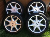 "17"" Ford Rs7 alloy wheels"