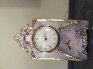 Heirloom Porcelain Clock