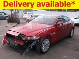 2016 Jaguar XE 2.0 D Prestige DAMAGED REPAIRABLE SALVAGE