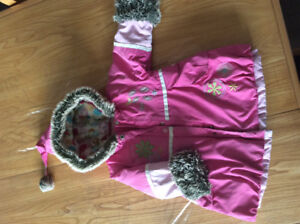 Girls snowsuit , jacket only, 18  girl