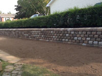 Curb/ retaining Wall Stones Make me an offer