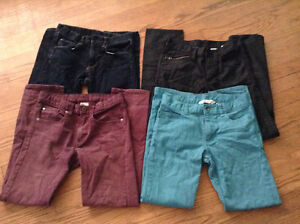 4 pairs of H&M Boys' Jeans, size 11-12 years