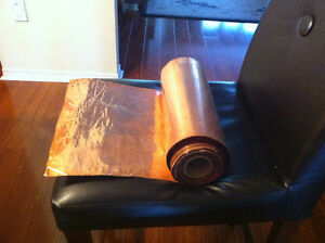 19.5 Pound Roll of Copper Sheet