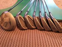Howson right handed golf clubs