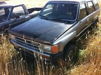 89 4runner convertible back to the future collectible! Only $450