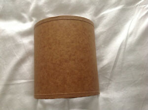 "4 - Half Wall Sconces Shade 5.5"" in Tan"
