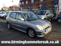 2002 (02) Daihatsu Sirion 1.3 F Speed AUTOMATIC 5DR Hatchback SILVER + LOW MILES