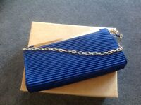 Lovely Royal Blue Bag by M&s used once