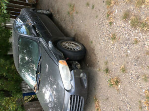 2004 Chrysler Sebring Black Other