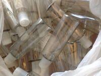 Plastic cosmetic bottles 200ml new