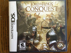 Nintendo DS -- The Lord of the Rings Conquest Kitchener / Waterloo Kitchener Area image 1