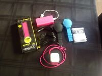 Joblot new Bluetooth devices speakers power packs watches