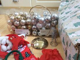 Massive christmas bundle 5ft dulux tree, new items, needs to go