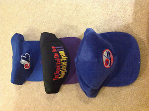 Three Ball Caps - NEW!