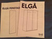 Black ELGA wardrobe