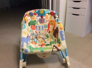 Fisher Price Infant-to-Toddler Rocker (with calming vibrations)