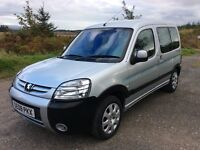 Wheelchair accessible Peugeot partner 1.6Hdi 2008