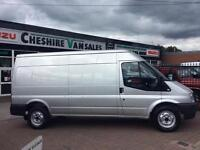 2012 62 FORD TRANSIT 2.2 350 LWB MED ROOF RWD LOW MILES FSH OPEN 7 DAYS DIESEL