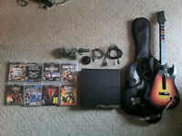 320GB Playstation 3 + games/accessories - $300