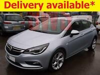 2016 Vauxhall Astra SRi Turbo 1.4 DAMAGED REPAIRABLE SALVAGE