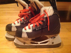 Easton Hockey skate size 1 / patin de hockey Easton grandeur 1 Gatineau Ottawa / Gatineau Area image 2