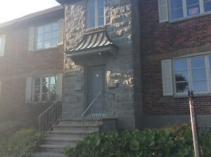 Lachine Large HEATED  Waterfront 2plex with parking and yard