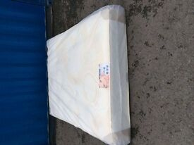 "orthopaedic memory foam mattresses 10"" thick new in packaging"