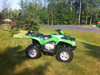 2006 Arctic Cat 400 with plow and winch - runs very well!