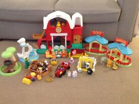 Little people farm and Happy land Zoo