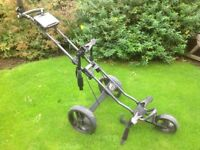 Powakaddy twinline3 push pull golf trolly