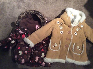 Girls Fall and Winter jackets size 2T Edmonton Edmonton Area image 1