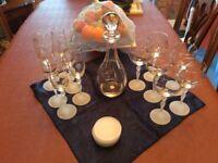 Avon commemorative crystal ware.