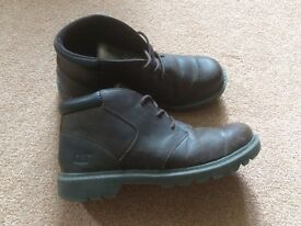 Catepiller CAT boots size 10 brown.