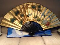 Chinese wall fan