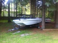 Motor and trialer for sale boat FREE!