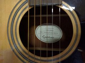 Epiphone AJ-100 CE Acoustic Electric Guitar London Ontario image 4