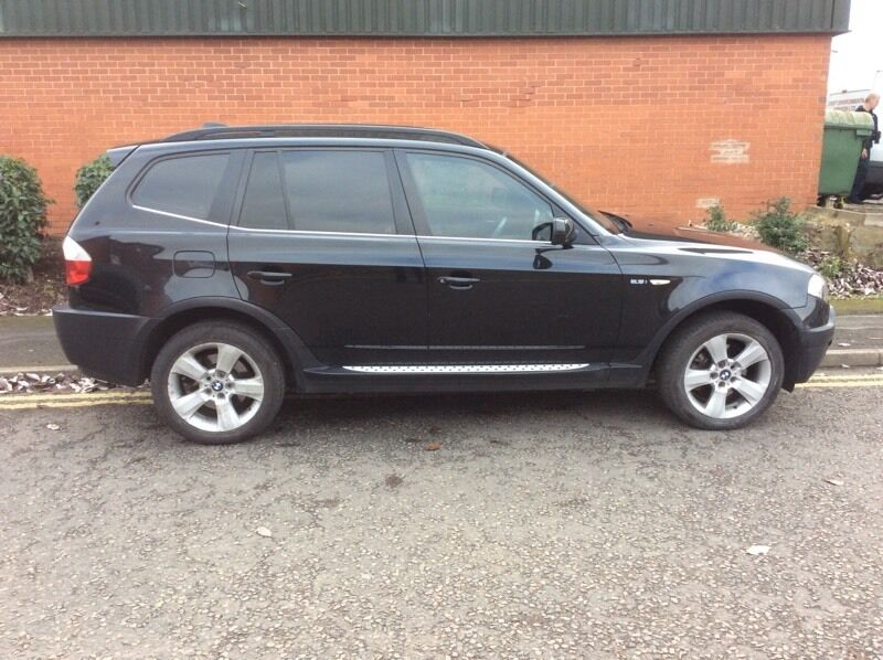 bmw x3 2 5 2004 54 plate manual black petrol in leicester leicestershire gumtree. Black Bedroom Furniture Sets. Home Design Ideas