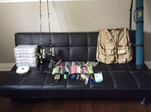 Complete Fishing Gear for the Lakes and Rivers