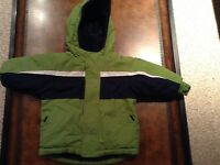 6-12 month Green winter jacket