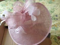 Phase Eight pink fascinator