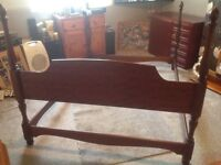 Stag double bed surround
