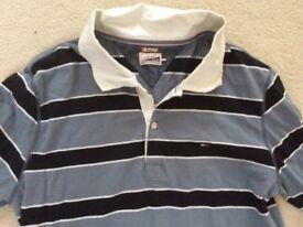 Mens Tommy Hilfiger rugby shirt for sale