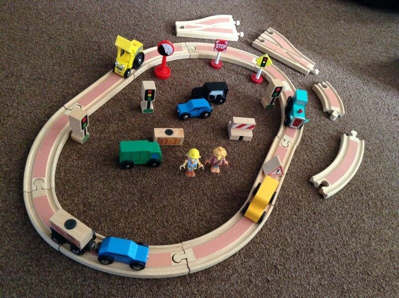 Bob the Builder BRIO wooden track Set