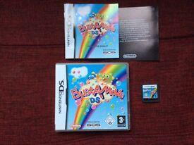 As new Nintendo DS bust a move & Nintendo 3DS puzzle bobble universe