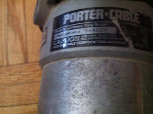 Porter Cable Heavy Duty Router West Island Greater Montréal image 2