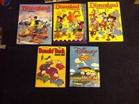 Donald Duck 1980 annual, Disney 74,75,77 and 84 annuals.