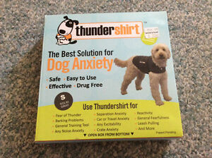 Thunder shirt the best solution for dog anxiety!