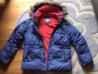 Girls boden coat, aged 11-12
