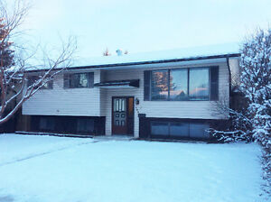 3 Bedroom Main floor Bi-Level  in Marlborough Park Available Now