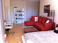 Appartement Downtown Rent / Louer 1 1/2 480 s.f
